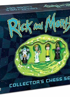 Rick & Morty Collector's Chess Set