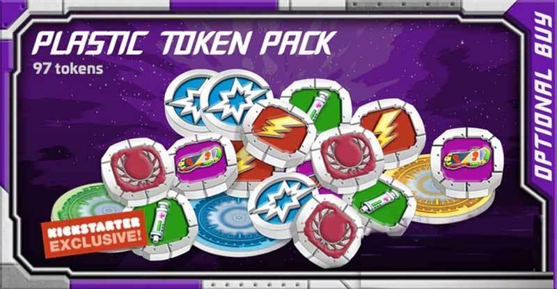 Starcadia Quest: Plastic Token Pack (KS Exclus.)