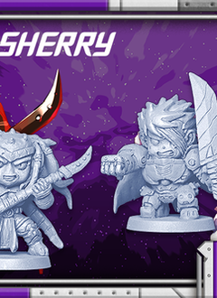 Starcadia Quest: Patty and Sherry Character Pack