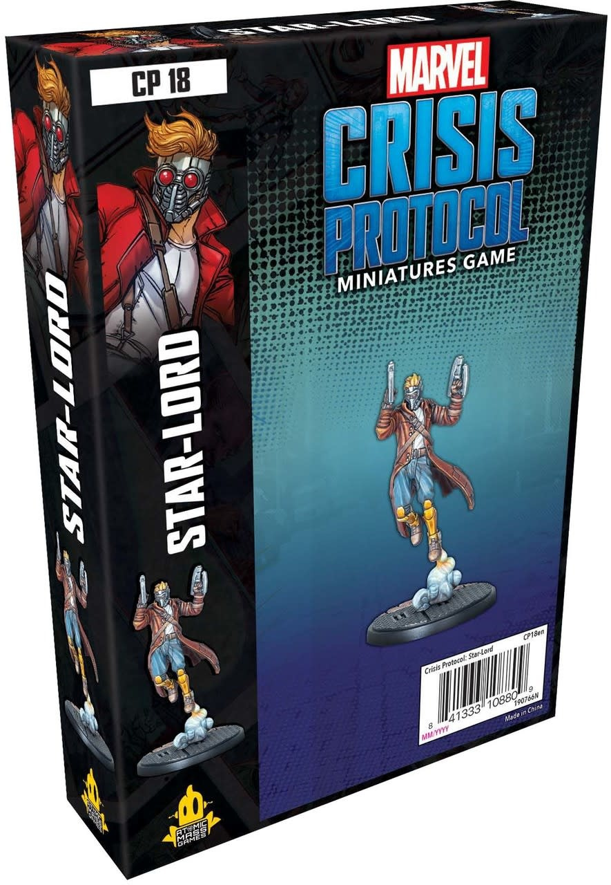 Marvel Crisis Protocol : Starlord Character Pack