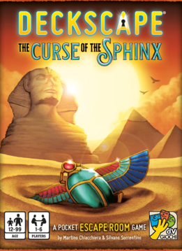 Deckscape: La Malédiction du Sphinx (FR)