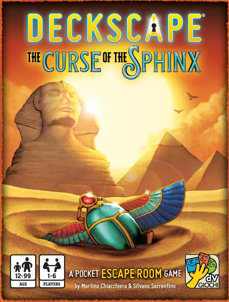 Deckscape: La Malédiction du Sphinx (FR)