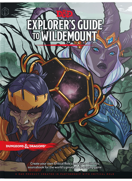 D&D Explorer's Guide to Wildemount (HC)