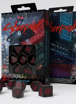 Cyberpunk RPG Red: Essential Dice Set