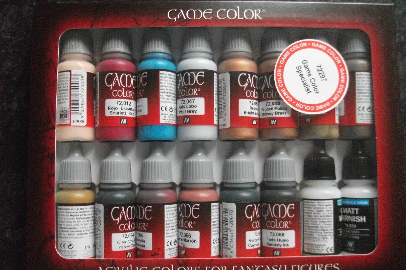 Vallejo Game Color: Specialist Set (16)