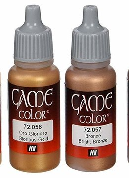 Vallejo Game Color: Metallic Colors Set (8)