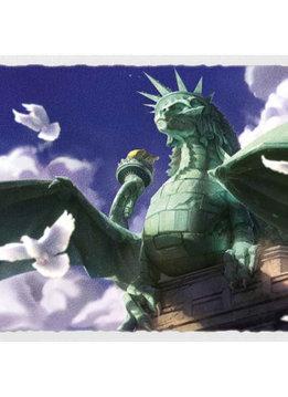 Dragon of Liberty - Dragon Shield Sleeves Ltd. Ed. Matte Art 100ct