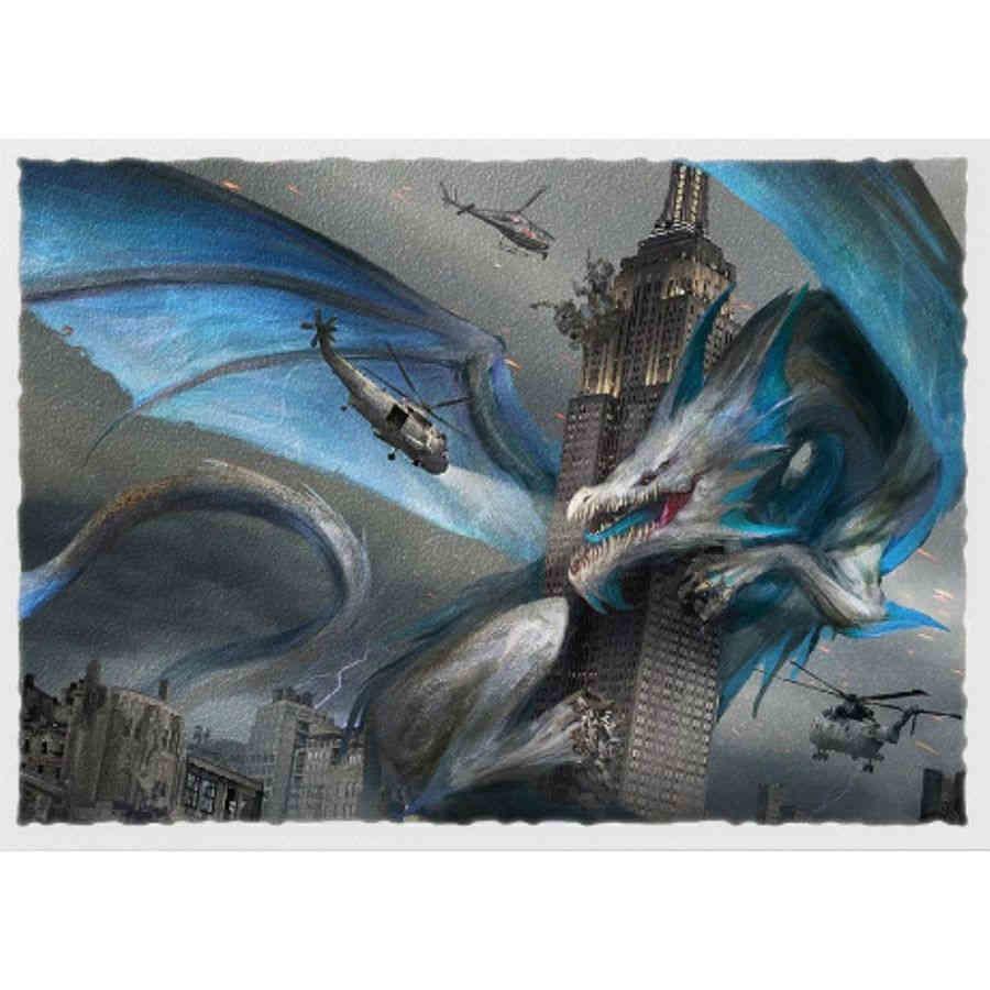 Empire State Dragon - Dragon Shield Sleeves Ltd. Ed. Matte Art 100ct
