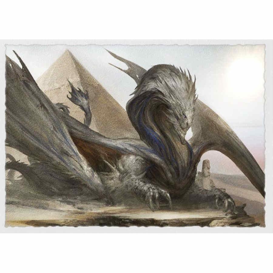 Sphinx Dragon - Dragon Shield Sleeves Ltd. Ed. Matte Art 100ct