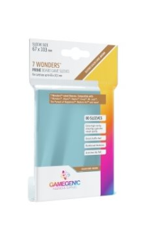 Gamegenic PRIME Sleeves: 7 Wonders (80)