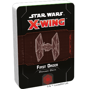 X-Wing 2nd Ed: First Order Damage Deck