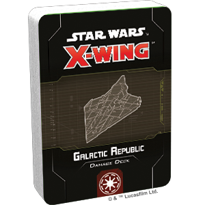 X-Wing 2nd Ed: Galactic Republic Damage Deck