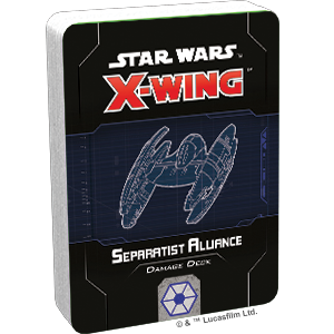 X-Wing 2nd Ed: Separatist Damage Deck