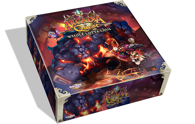 Arcadia Quest: Whole Lotta Lava Exp.