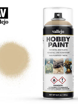 Vallejo Aerosol Bone White Primer 400ml