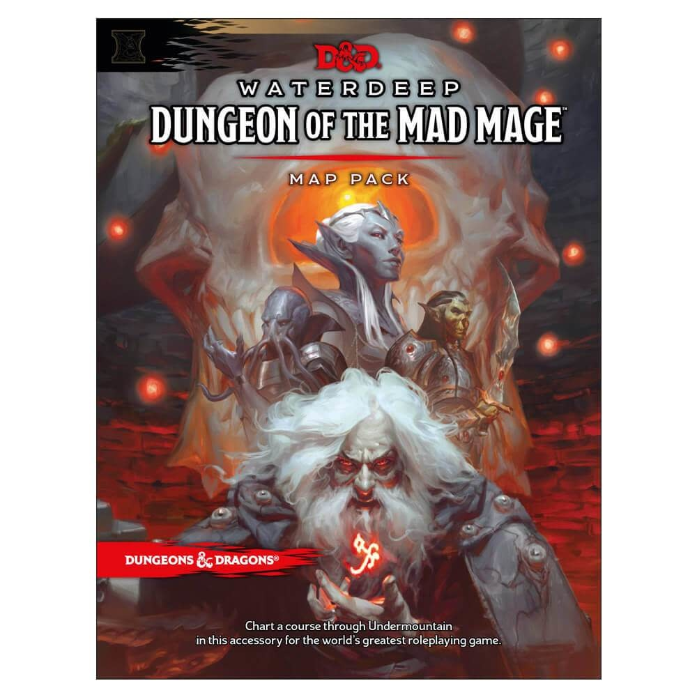 Waterdeep - Dungeon of the Mad Mage Map Pack
