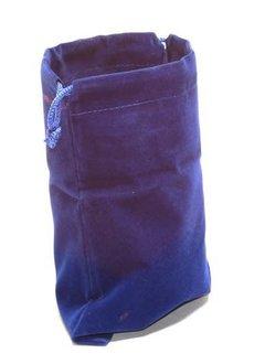 "Dice Bag Cloth 4"" x 5"" Blue"
