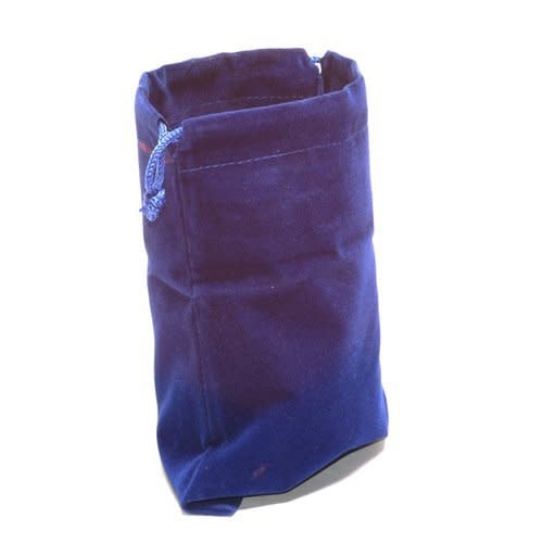 "Dice Bag Cloth 4"" x 5"" Blue"
