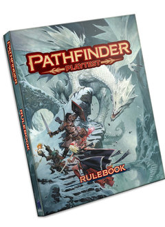 Pathfinder 2E Playtest Rulebook Softcover