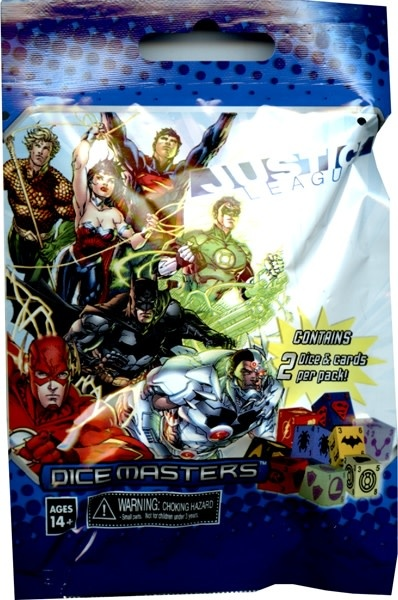 Justice League Dice Master booster
