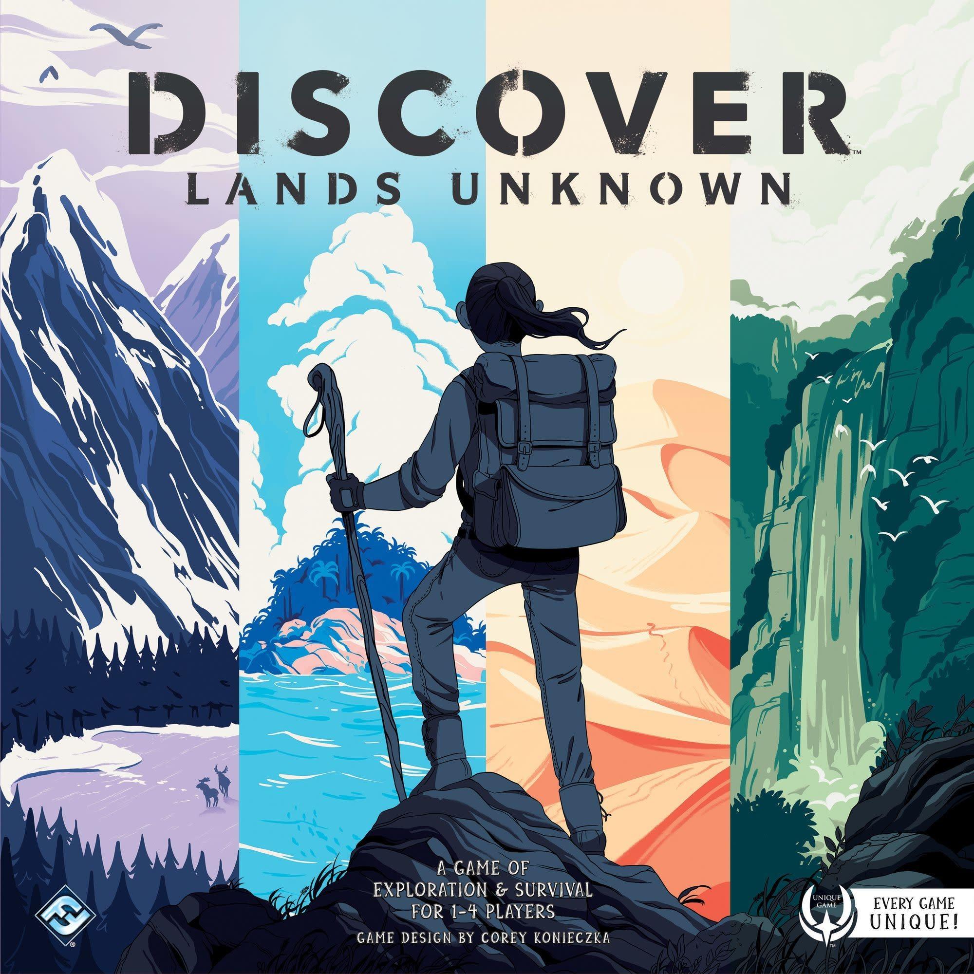 Discover: Lands Unknown (Usagé)