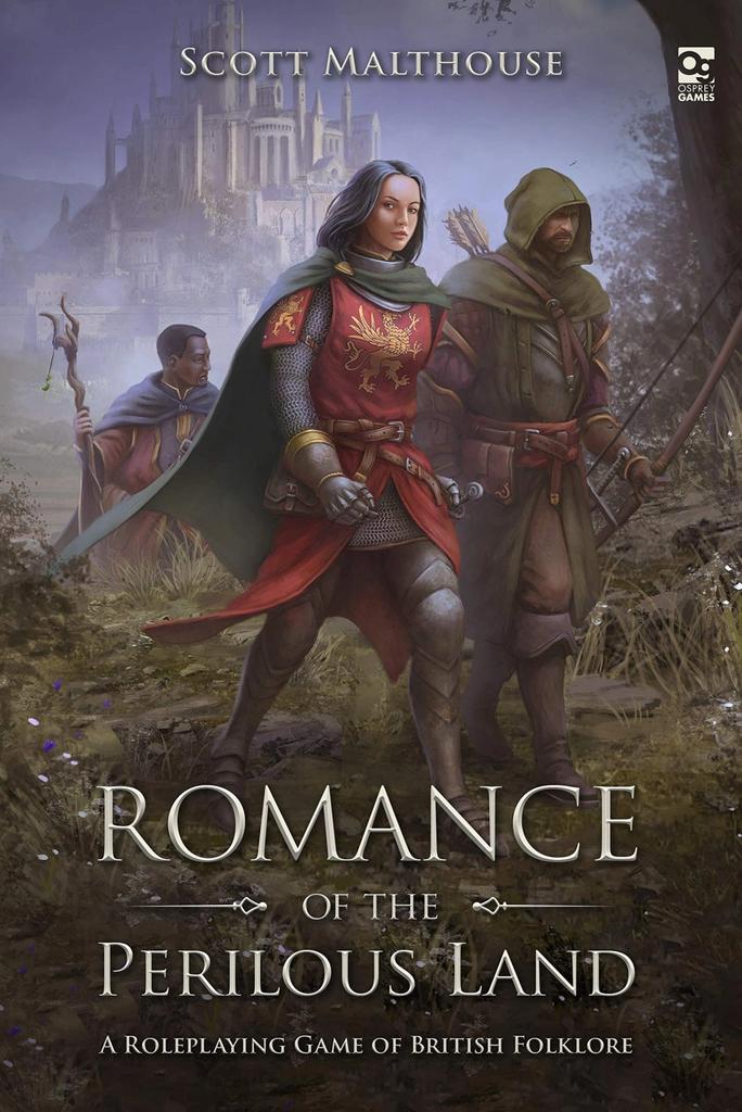 Romance of the Perilous Land RPG (EN HC)