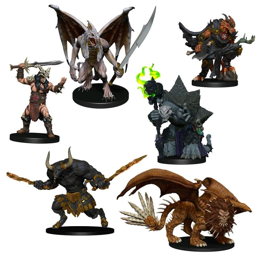 D&D Minis: Arkhan the Cruel and The Dark Order