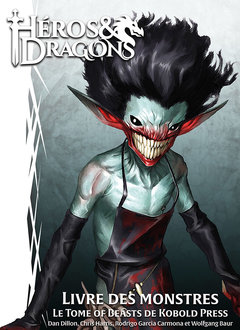 HEROS & DRAGONS - LIVRE DES MONSTRES (FR)