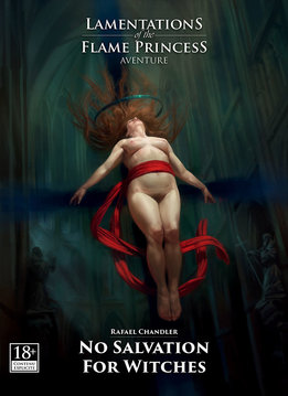 LAMENTATIONS OF THE FLAME PRINCESS - NO SALVATION FOR WITCHES (FR)
