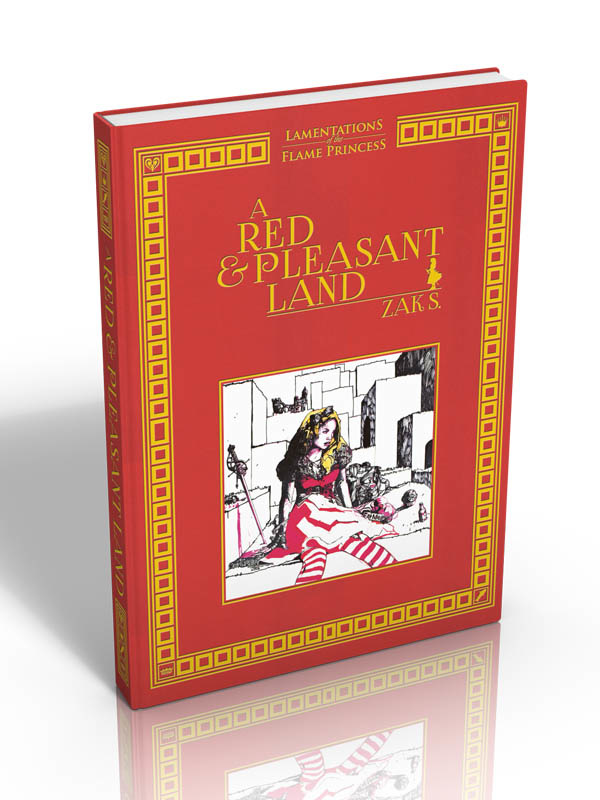 LAMENTATIONS OF THE FLAME PRINCESS - A RED AND PLEASANT LAND (FR)