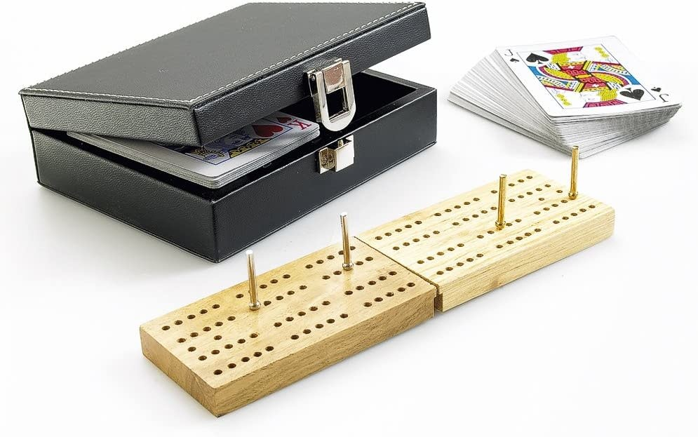 Deluxe Folding Cribbage Set