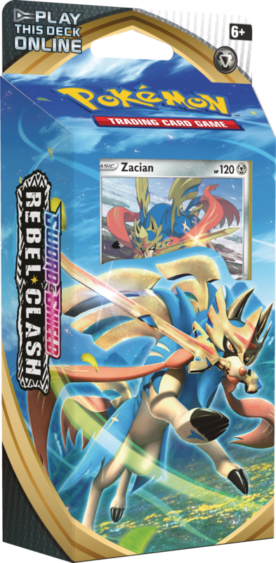 Theme Deck: Zacian - Pokemon Rebel Clash