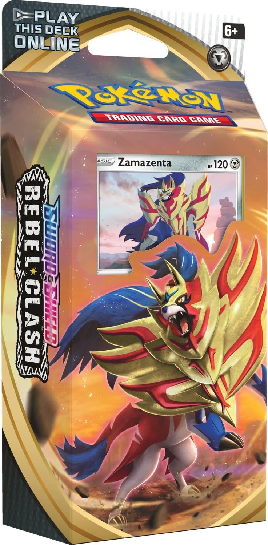Theme Deck: Zamazenta - Pokemon Rebel Clash