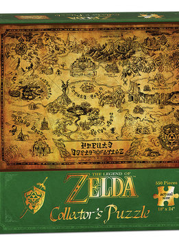 Puzzle: The Legend of Zelda™ Hyrule Map (550 pc)