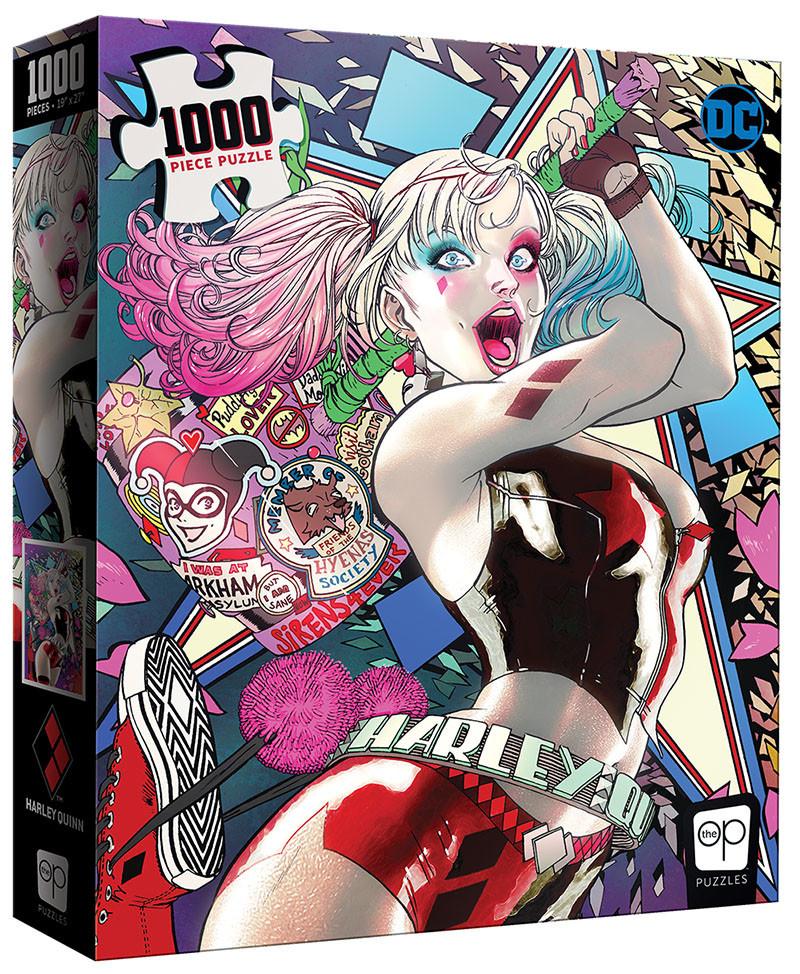 Puzzle: Harley Quinn Die Laughing (1000 pc)