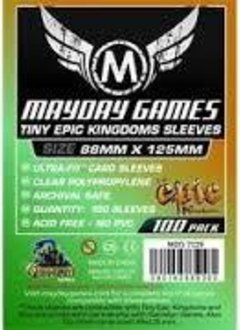 """Tiny Epic Kingdoms"" Card Sleeves 88 X 125 MM"