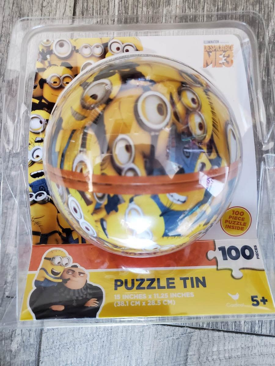 Minion Puzzle Tin 100pc