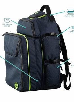 Ultimate Boardgame Backpack - Blue