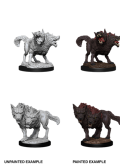 D&D Unpainted Minis: Death Dog (WV11)