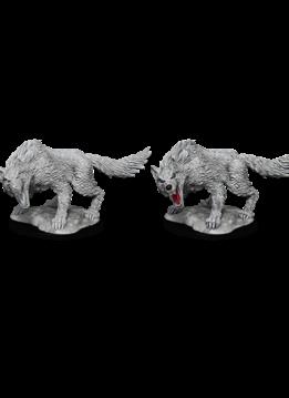 D&D Unpainted Minis: Winter Wolf (WV11)