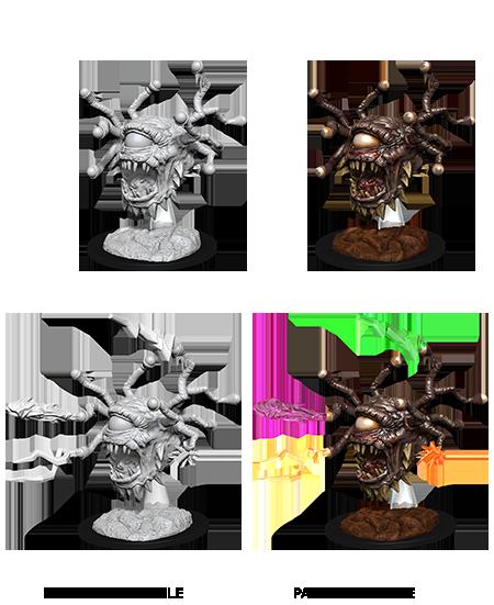 D&D Unpainted Minis: Beholder Zombie (WV11)