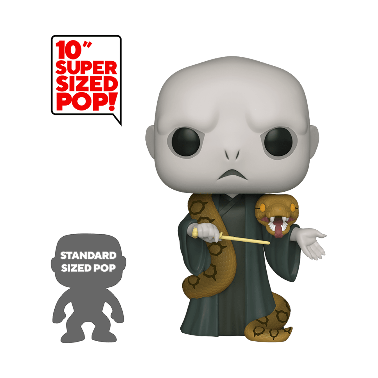 POP! Harry Potter: Voldemort with Nagani 10""