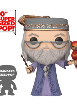 """POP! Harry Potter: Dumbledore with Fawkes 10"""""""