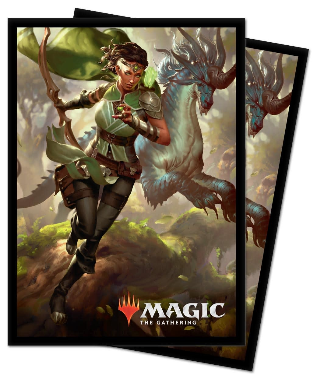 Vivien, Monster's Advocate - MTG Ikoria UP D-Pro Sleeves 100ct