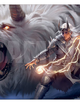 Fight as One - MTG Ikoria UP Playmat