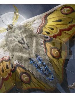 Luminous Broodmoth - MTG Ikoria UP Playmat