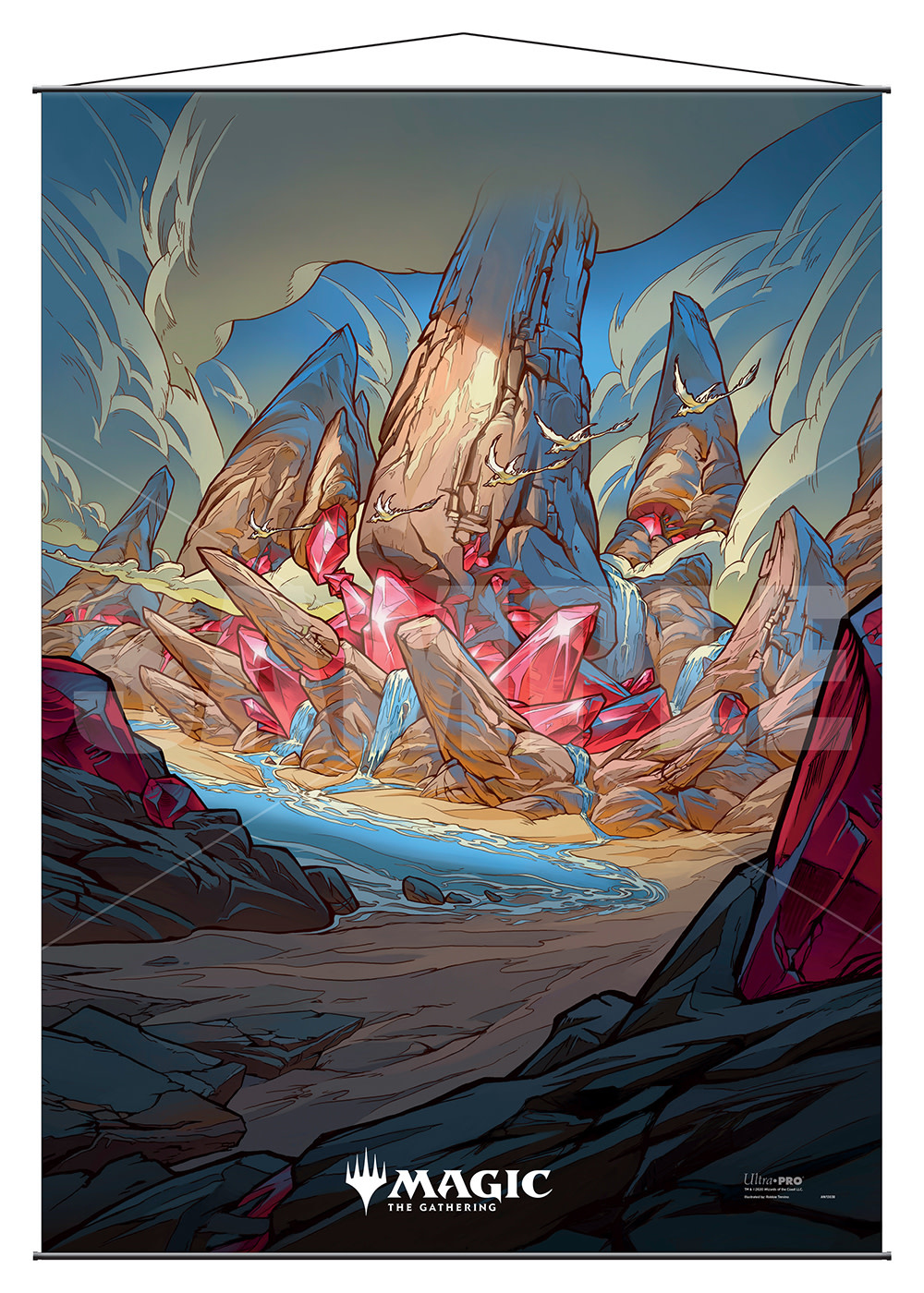 Raugrin Triome - MTG Ikoria UP Wall Scroll