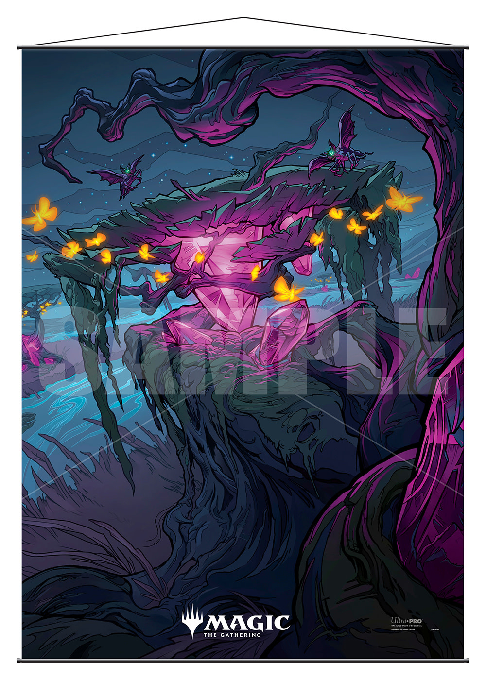 Indatha Triome - MTG Ikoria UP Wall Scroll