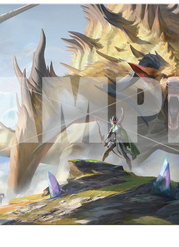 MTG Ikoria UP 6ft Table Playmat