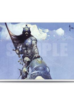 Silver Warrior - Frank Frazetta UP Playmat